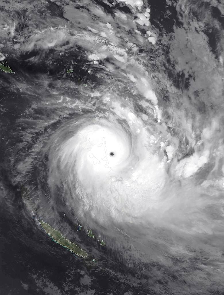 Severe Tropical Cyclone Harold on April 6, 2020