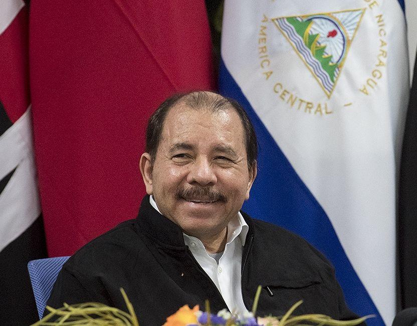 Nicaragua's president, Daniel Ortega