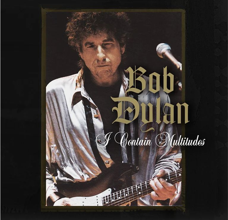 Promotional picture for Bob Dylan's song I Contain Multitudes.