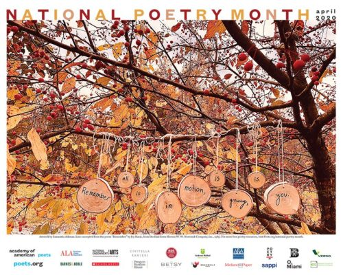 2020 National Poetry Month Poster