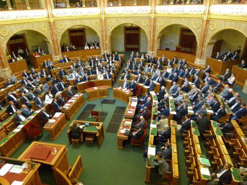 Viktor Orbán addresses the House of Commons, Budapest, Hungary, 2015-09-21.