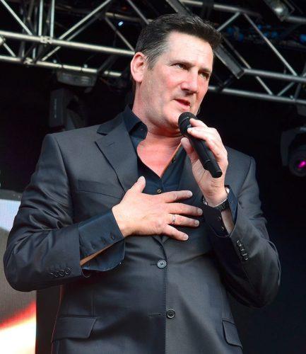 Tony Hadley performing in 2014