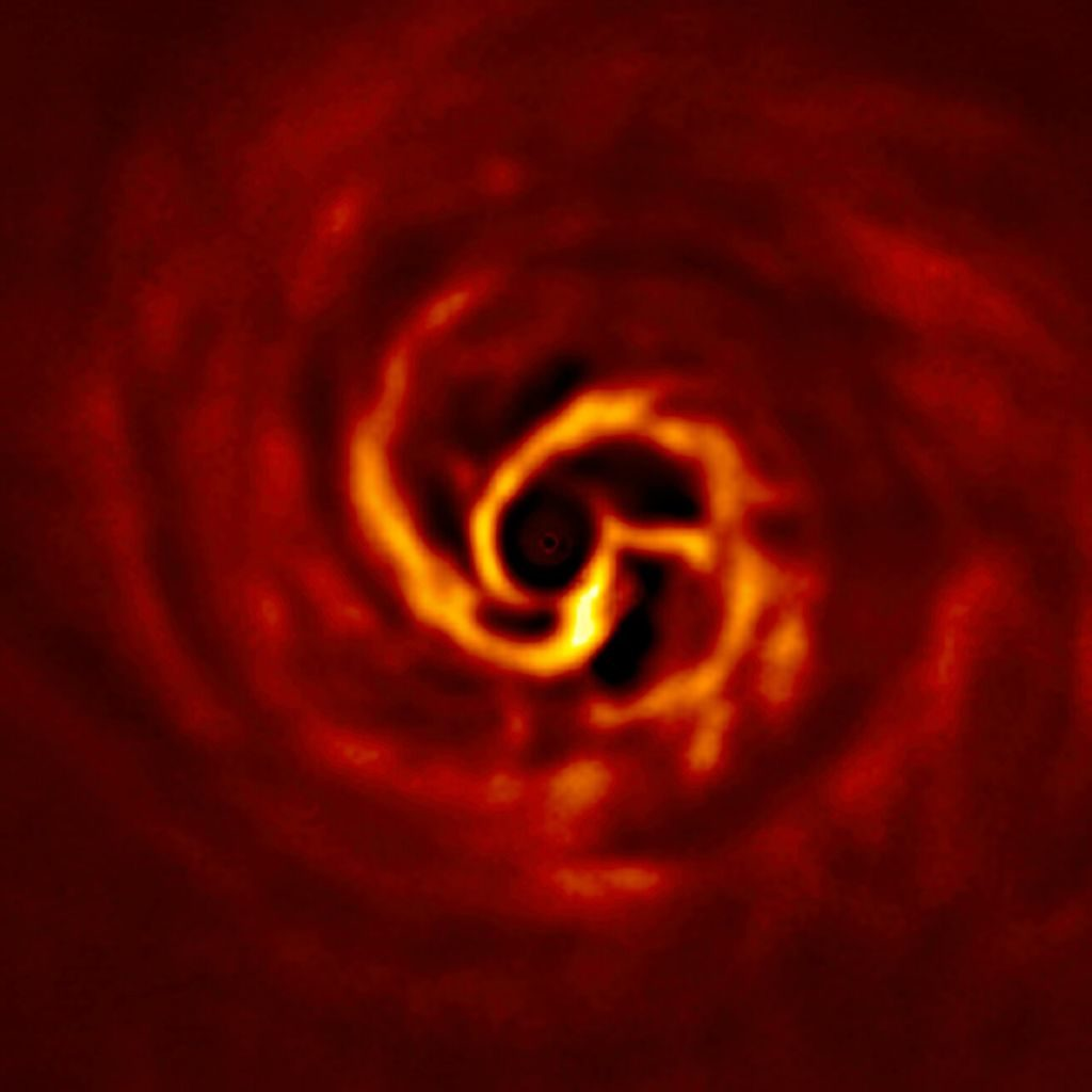 SPHERE image of the inner disc around AB Aurigae