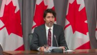 Canadian Prime Minister Justin Trudeau announces Canada's ban on assault weapons.