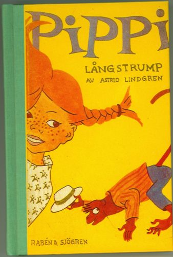 Pippi Longstocking book in the original Swedish.