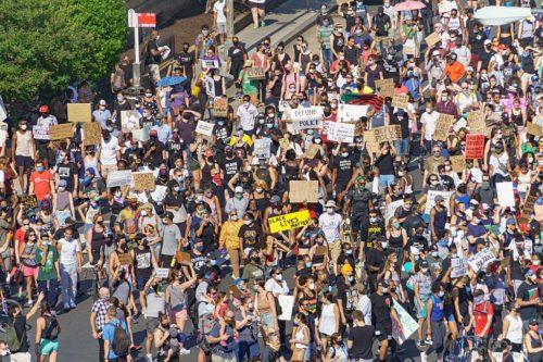2020.06.06 Protesting the Murder of George Floyd, Washington, DC US