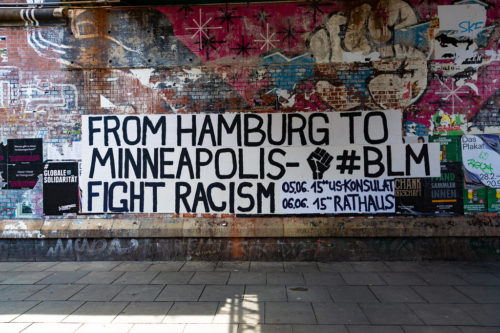 #BLM Demonstration Hamburg 2020-06-05