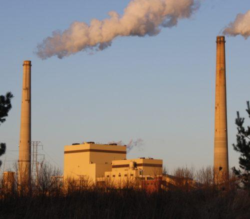 The Edgewater Generating Station in Sheboygan, Wisconsin, 2011.