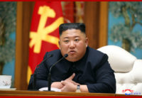 North Korean leader Kim Jong-un, shown during a meeting in April.