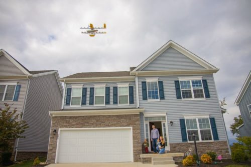 Wing drone in Virginia.