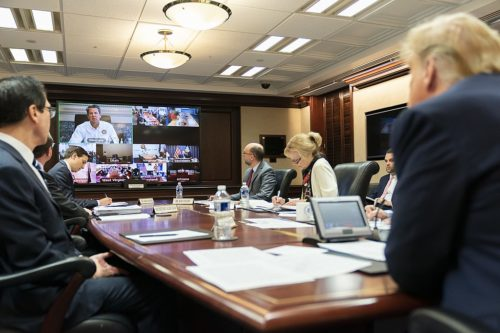 Governors' Video Teleconference on Partnership for the COVID-19 Response