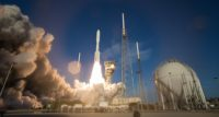 A United Launch Alliance Atlas V rocket with NASA's Mars 2020 Perseverance rover onboard launches from Space Launch Complex 41, Thursday, July 30, 2020, at Cape Canaveral Air Force Station in Florida.
