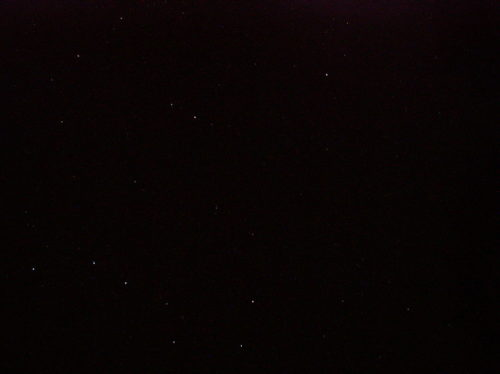 The Big Dipper and the Little Dipper constellations