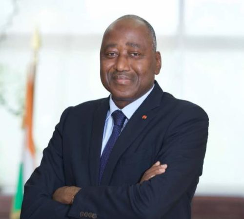 Amadou Gon Coulibaly, Prime Minister of Ivory Coast - official photo