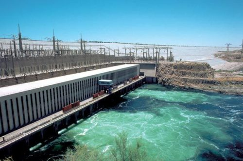 The Aswan Dam is an embankment dam situated across the Nile River in Aswan, Egypt