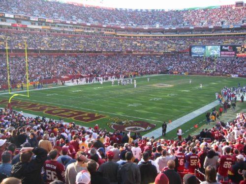 FedExField of the Washington Redskins