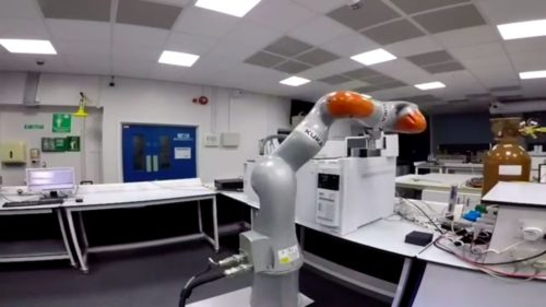 Robot Lab Assistant - University of Liverpool.