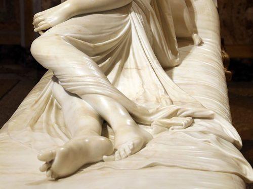Sculptures in the Galleria Borghese (Rome)