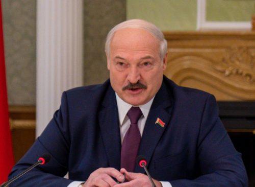 Belarusian President Alexander Lukashenko on February 1, 2020.