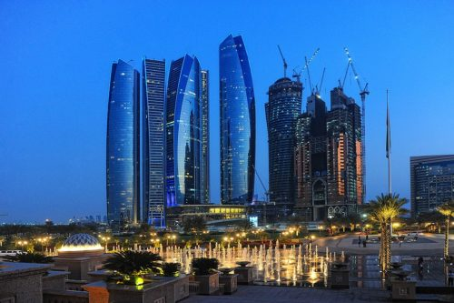 Abu Dhabi at Night