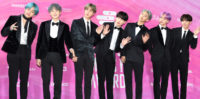 South Korean boy band BTS at the 2019 Seoul Music Awards on 15 January 2019