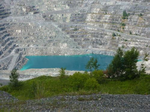 Jeffrey Mine in Asbestos, Quebec - Canada