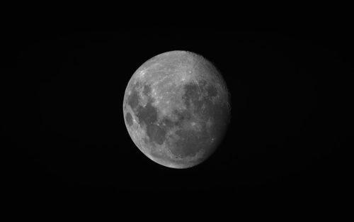 Moon viewed by Hodoyoshi-1 satellite