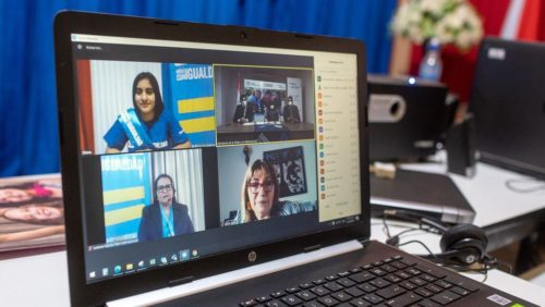 To mark the International Day of the Girl in Paraguay, Diana took over the role of Minister of Children and Adolescents from Estela Martínez. During her takeover, Diana held a virtual meeting with the Ministry.