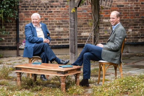 David Attenborough and Prince William