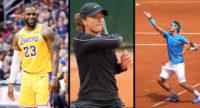 Lebron James, Iga Swiatek, & Rafael Nadal