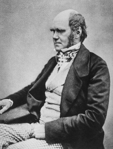 Photograph of Charles Darwin around 1854.