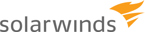Logo of technology company SolarWinds