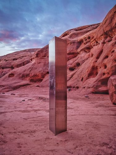 Utah Desert Monolith