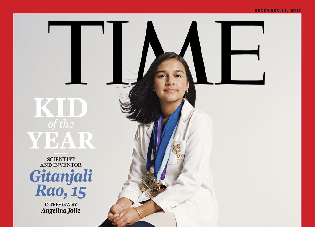 Time Magazine has announced that 15-year-old scientist Gitanjali Rao is its Kid of the Year for 2020.