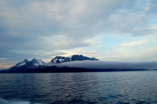 Arctic Ocean, off Tromso, Norway