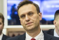 Alexei Navalny, Russian opposition leader, at Central Election Commission's session which is about to deny his right to be in the ballot on the upcoming presidential elections.