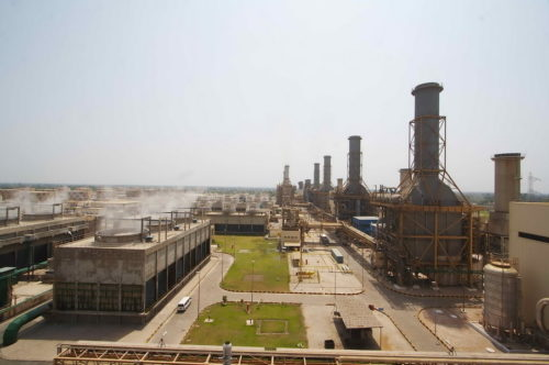 The Guddu Thermal Power Station in Sindh, Pakistan.
