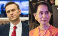Alexei Navalny and Aung San Suu Kyi