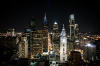 Philadelphia at night