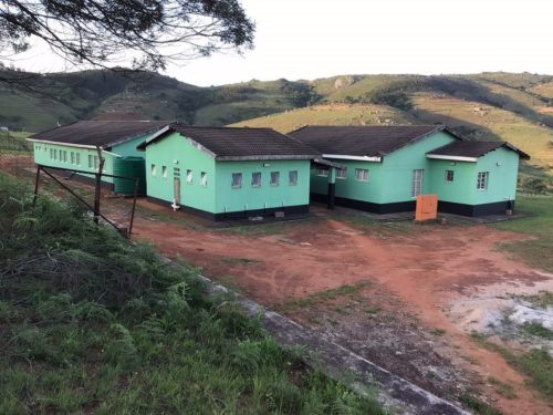 A rural health clinic at Bhahwini in eSwatini.