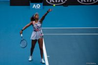 Melbourne, Australia - 20 January 2020 - Naomi Osaka on Rod Laver Arena