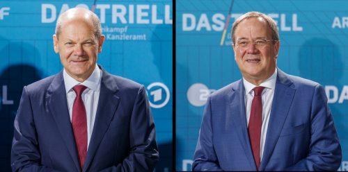 Olaf Scholz and Armin Laschet